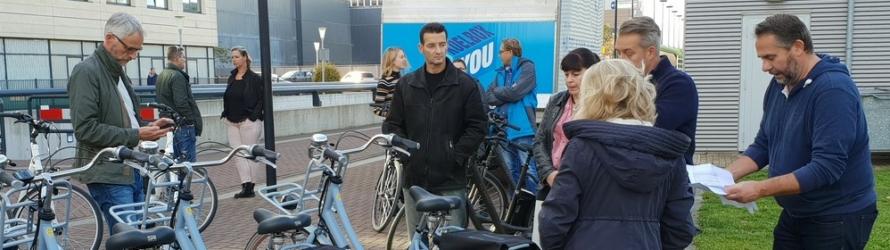 Heijendaal e-bike probeerfietsers