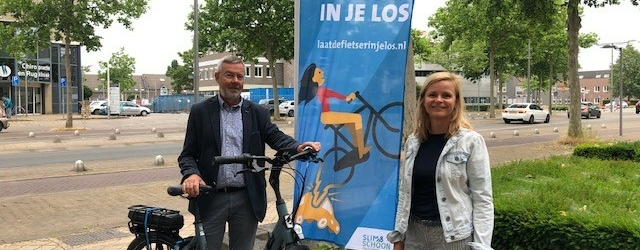 Winnares e-bike Laat de fietser in je los