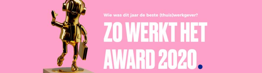 Beste (Thuis)Werkgever 2020 Award