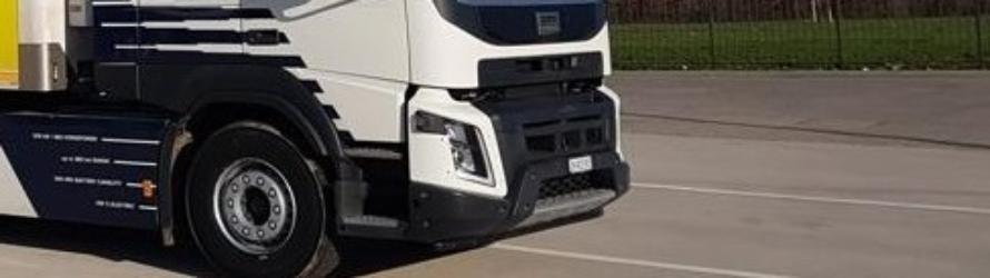 Elektirsche vrachtwagen