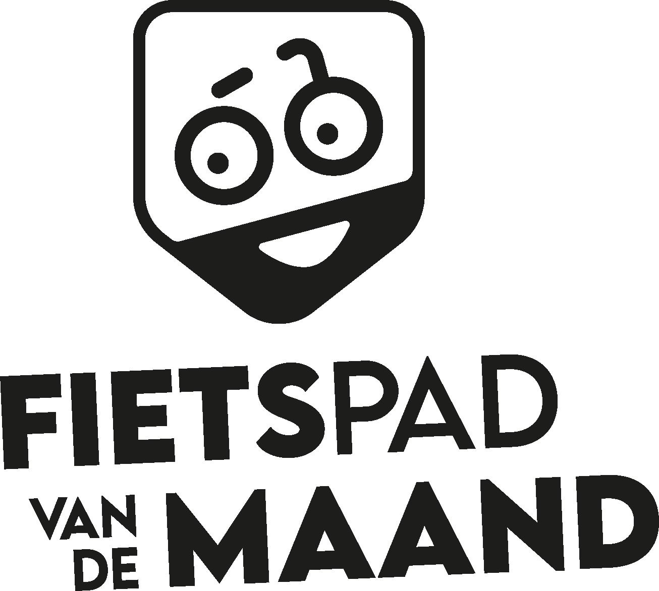 Fietspad van de maand - Logo