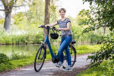 Maaike van Asperen fietste 20.000 km