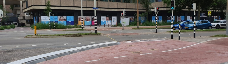 Verbeteringen voor de fiets aan de Velperweg