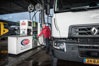 HVO brandstof tanken